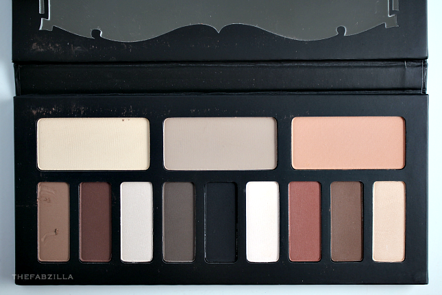 Kat Von D Shade + Light Eye Contour Palette, Review, Swatch, neutral palette, urban decay naked 2, urban decay naked 1, urban decay naked 3