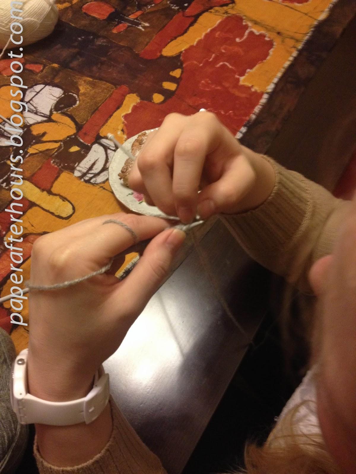 Kaganek oświaty, czyli warsztaty robienia na drutach.