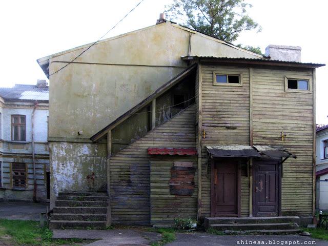 дворы в Гродно, Гродно, старые дома в Гродно