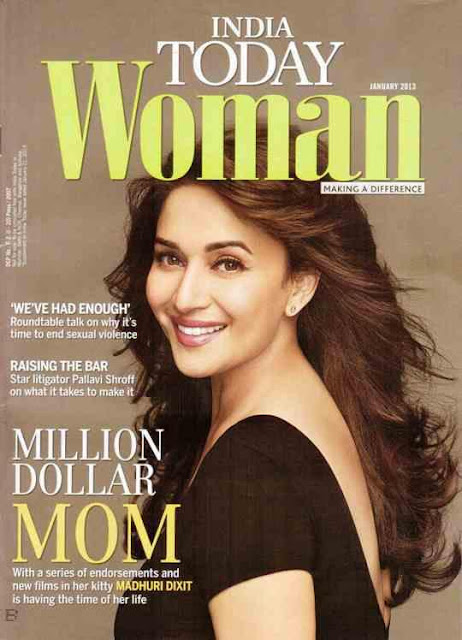 Bollywood Diva Madhuri Dixit on the cover of India Today Woman