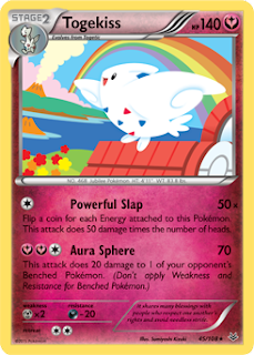 Togekiss Roaring Skies Pokemon Card