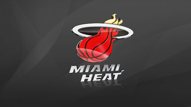 Eastern NBA Team Logo Wallpapers for iPhone 5 - Miami Heat