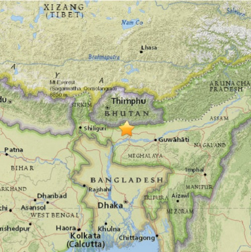 sikkim_earthquake_epicenter_map