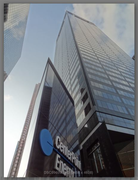 CenterPoint Energy (logo and pics of office tower) | Houston in Pics