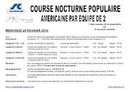 Course nocturne 24 février