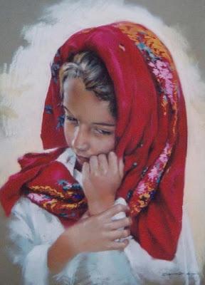 retratos-de-niñas-pastel