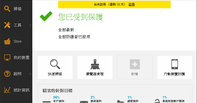 avast! 11.1.2253.1653 繁体中文免费版- 新手也会使用的免费防毒软体柏強