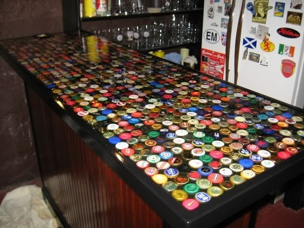 30 Creative DIY Ideas To Recycle Bottle Caps   Do It Yourself .