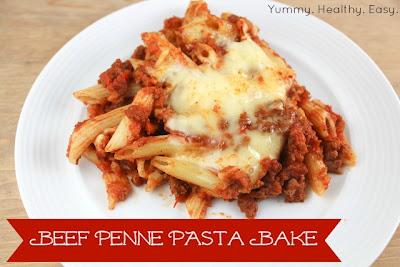 Beef Penne Pasta Bake