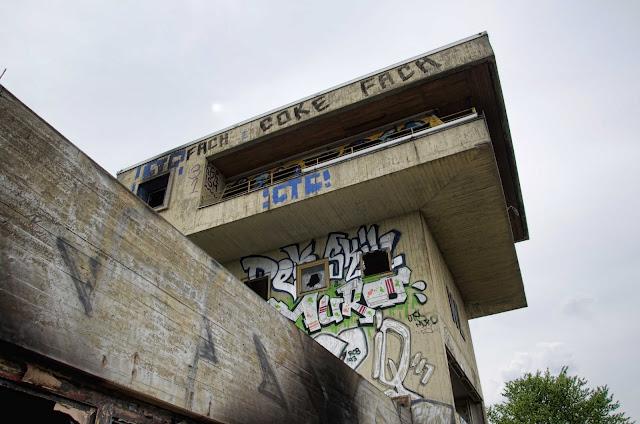 Baustelle Altes Stellwerk, gegenüber S+U Innsbrucker Platz, Hauptstraße 65, 12159 Berlin, 23.04.2014