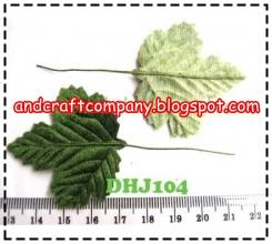 Jual daun kerajinan tangan