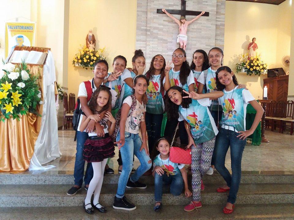 GRUPO DA INFÂNCIA E ADOLESCÊNCIA MISSIONÁRIA