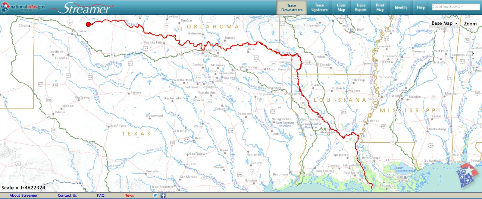 Rivers Of The Us Map - Rivers-us-map
