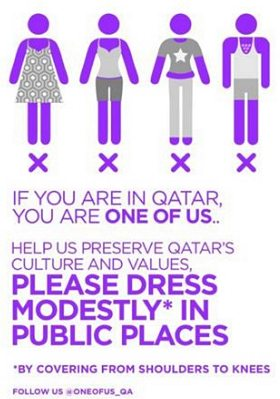 Qatar modesty