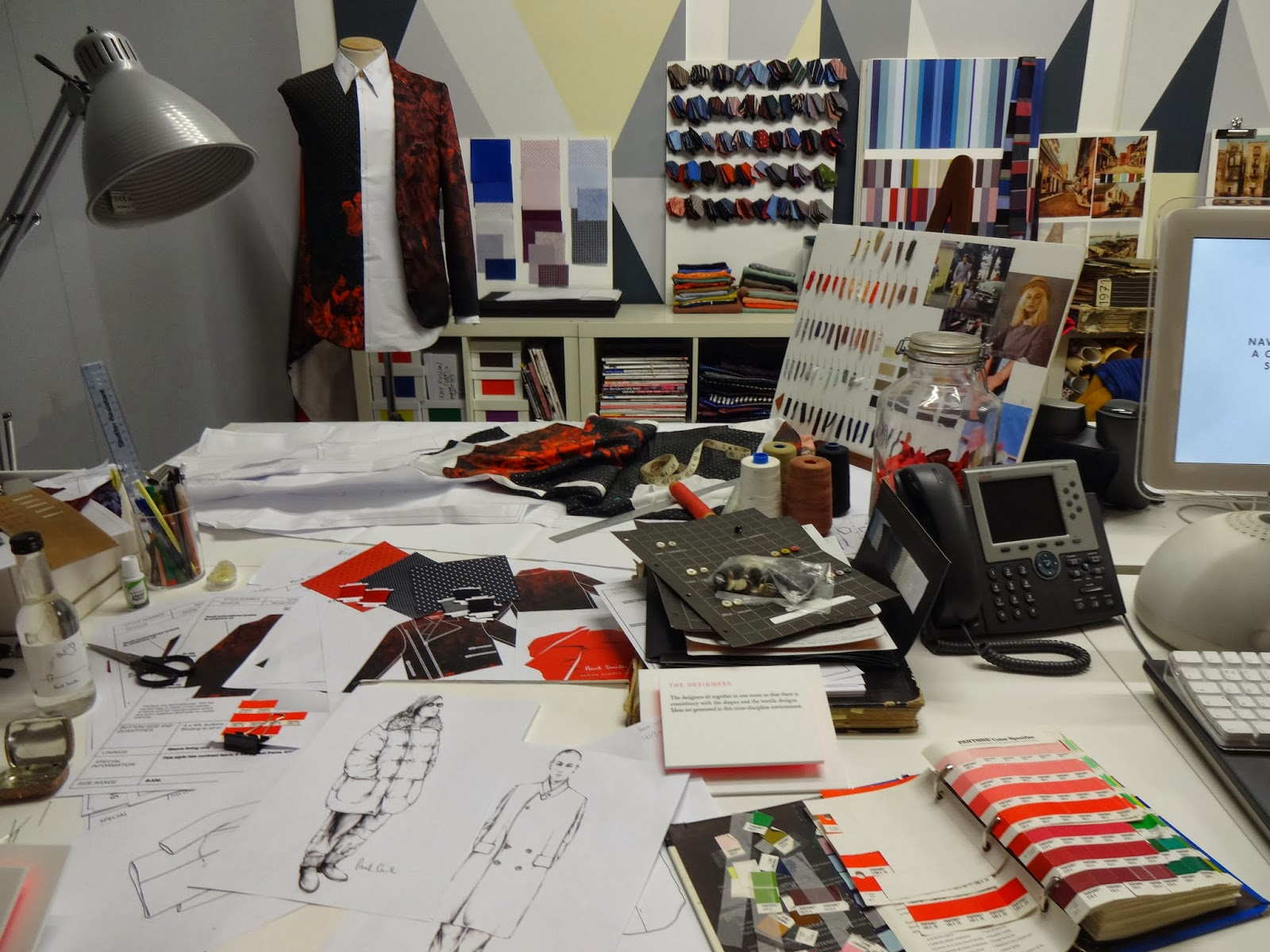 Paul Smith's Studio - The Designer