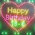 Led trái tim Happy Birthday