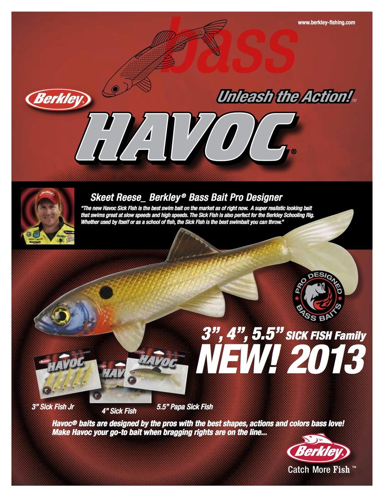 IBASSIN: Swim with the Sharks! HAVOC\' s New Sick Fish