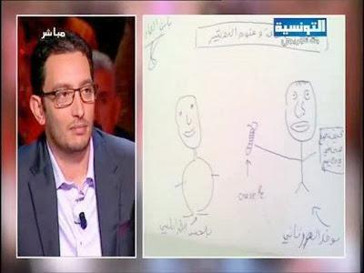 caricature Naoufel Ouertani