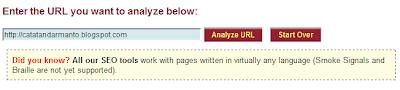 Meta tag analizer