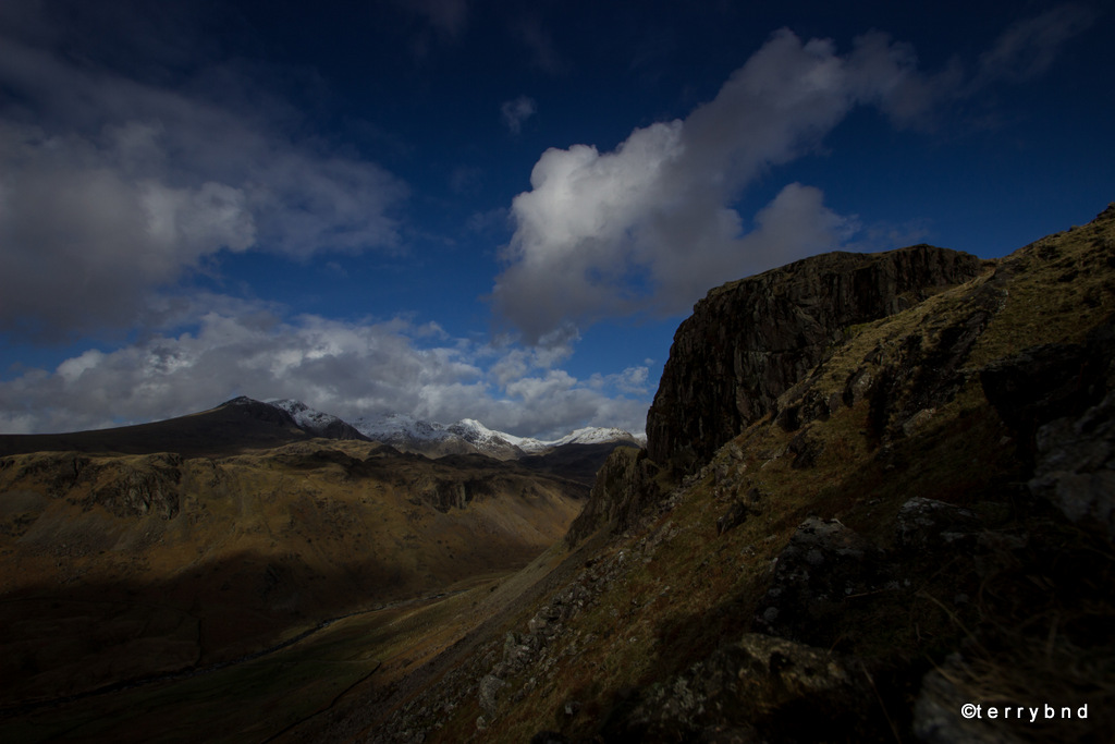 timelapse Lake District Scafell Pike