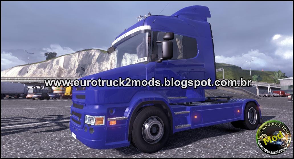 Euro truck 2 mods scania bicuda