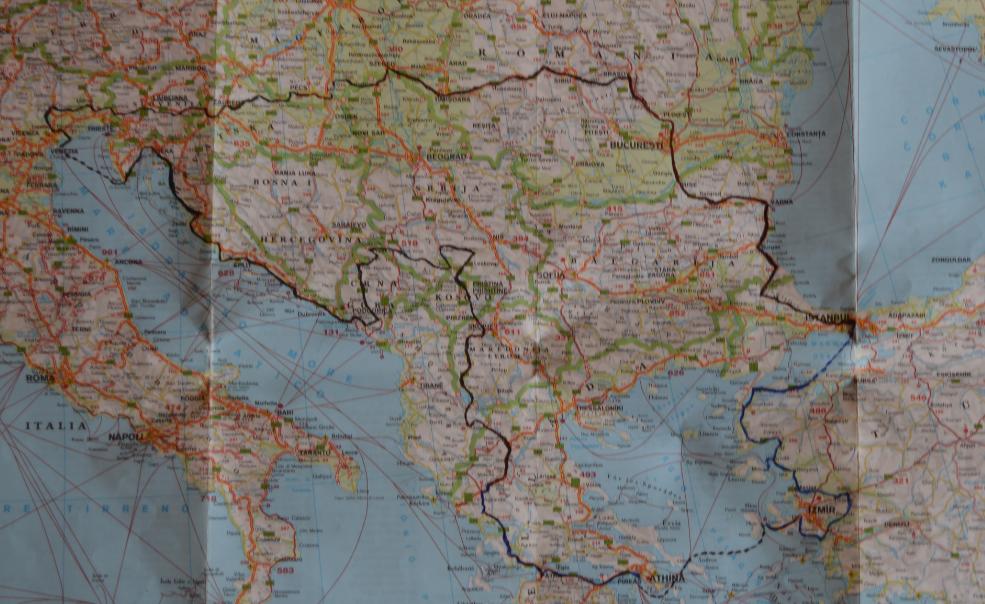 Eastern Europe Tour 2013.