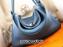 Hermes Lindy 30 Taurillon Clemence Blue Jean