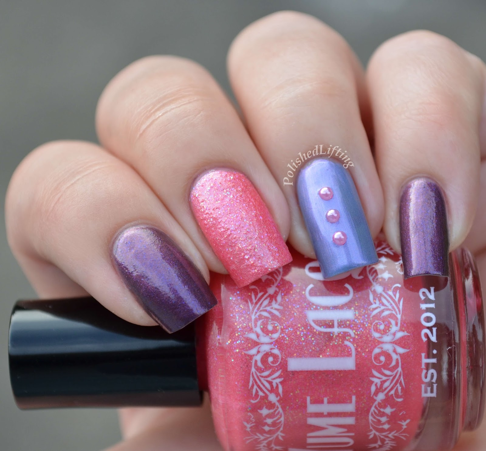 Yume Lacquer Pink Lady Time Distortion Silent Ruin
