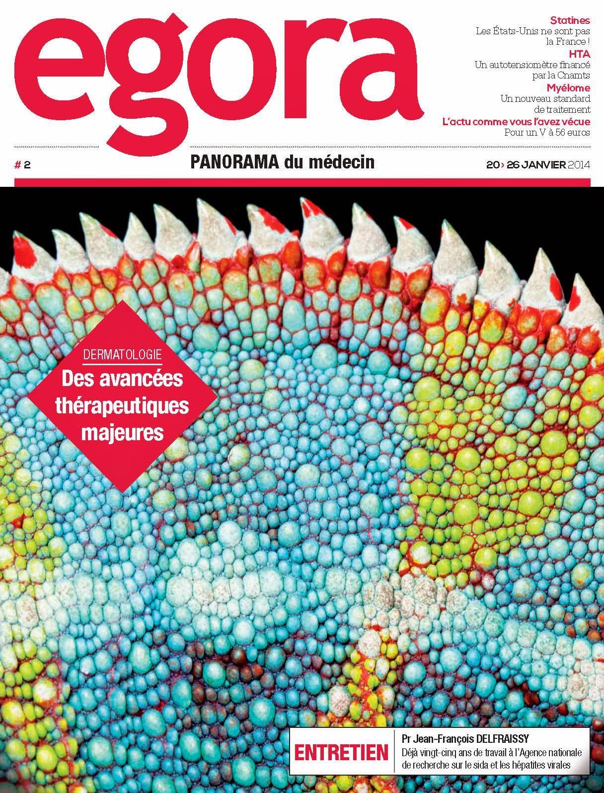 Egora - Panorama du médecin no 2, 20-26 Janvier 2014