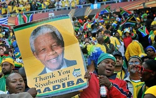 L'ADDIO INFINITO DEL SUDAFRICA A NELSON MANDELA