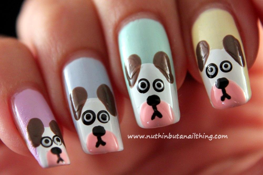 Nuthin but a nail thing dog nail art tutorial - Nail Art Pen Tutorial Images