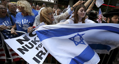 Americanos protestam contra acordo nuclear com o Irã