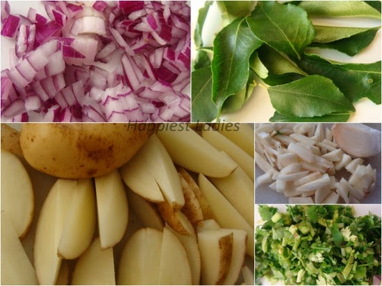 Butter Masala Potato Wedge Recipe