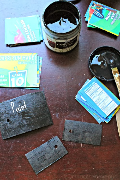 Chalkboard gift tags for all occasions