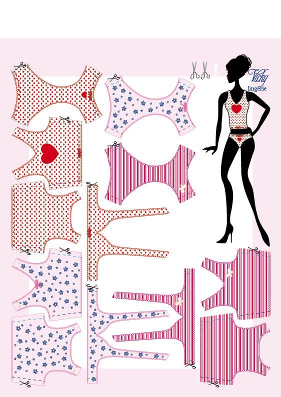 Anilegra moda para muñecas: 2011
