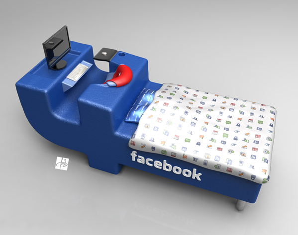Facebook bed buat facebookers sejati