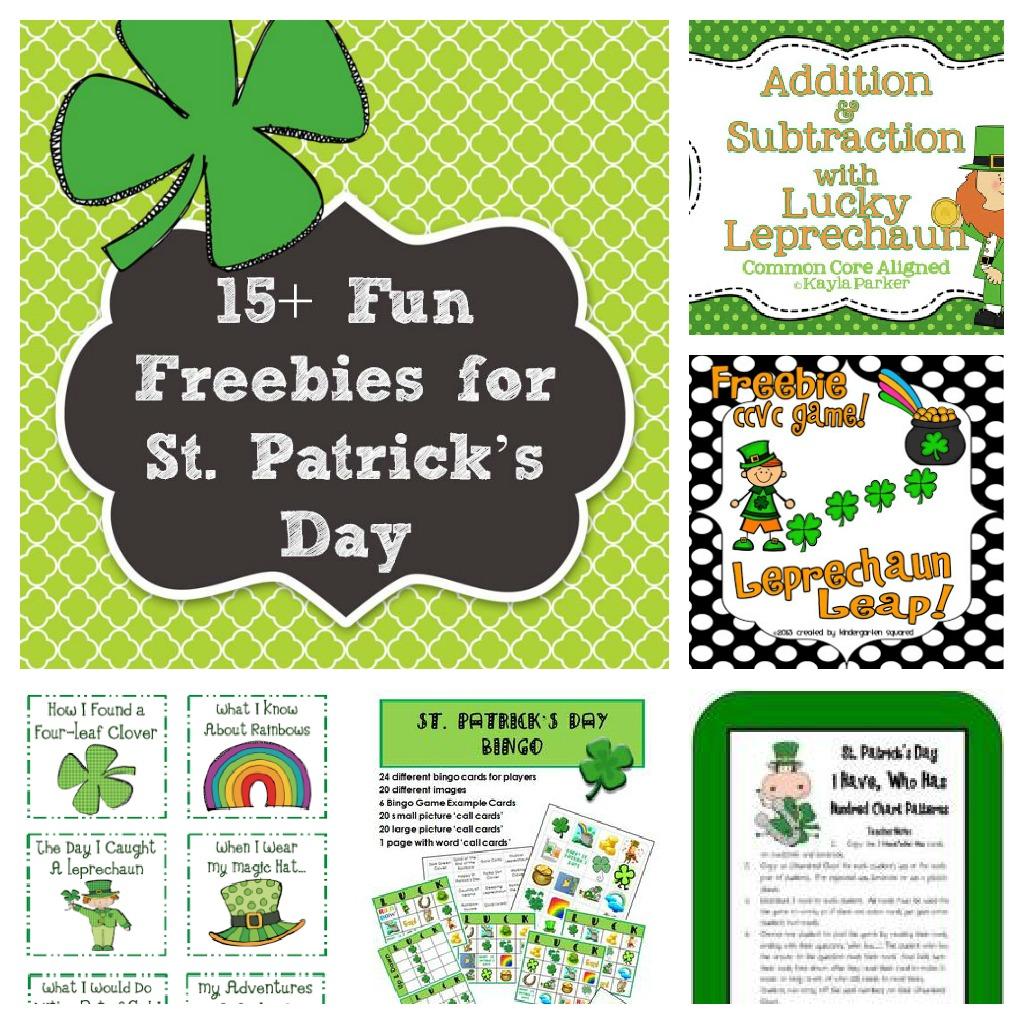 Leprechaun Classroom Visit Ideas ~ St patrick s day freebies and fun ideas a modern