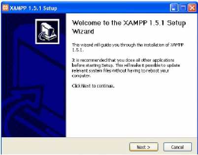 Proses Install Web Server