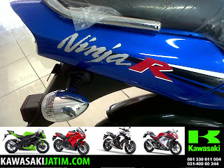Ninja 150R Biru New Stripping tail
