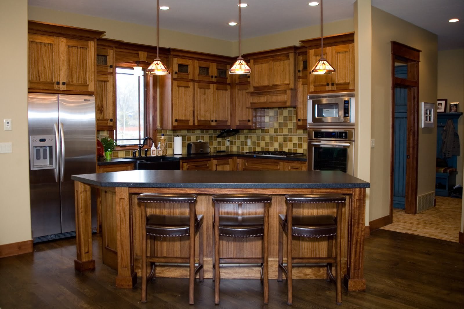 Peterson Woodworks Craftsman Kitchen