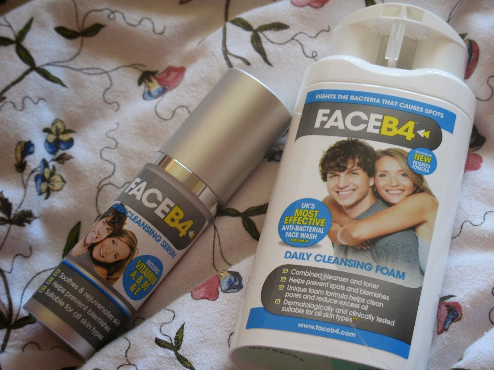 Face B4 Cleanser Serum