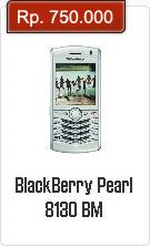 Spesifikasi Dan Harga BlackBerry Pearl 8130