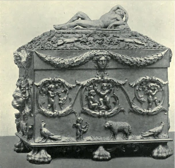 The ballot box  from History of the Society of Dilettanti by L Cust (1914)