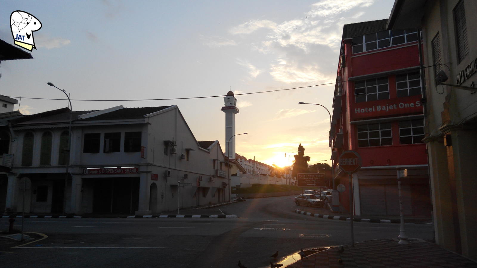 Ipoh sunset.