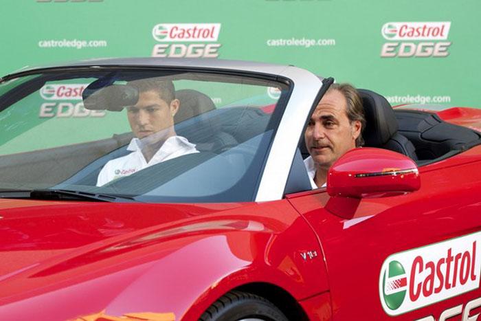 Cristiano Ronaldo Castrol Edge Premier   Picture   Vids