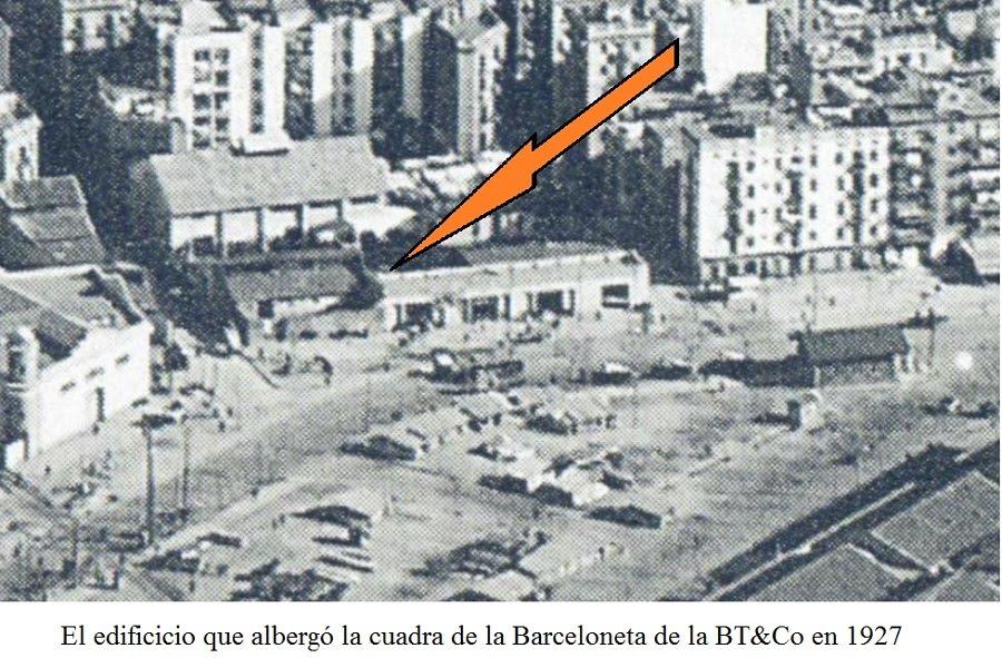 Rails i ferradures establos la estaci n o cochera 2 parte - Calle borrell barcelona ...