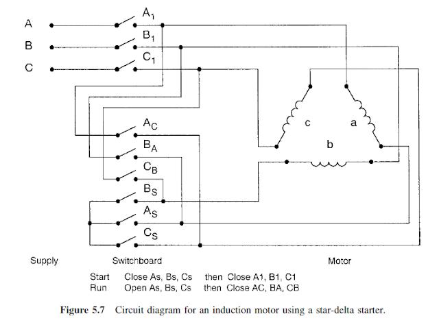 Wiring Diagram Of A Star Delta Motor Starter : Star delta starter for induction motor impremedia
