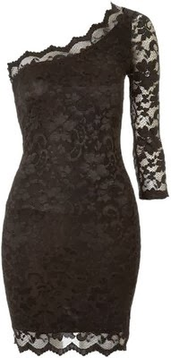 Adorable Black Lace Dress