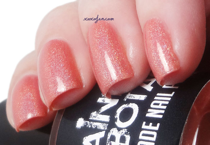 xoxoJen's swatch of Painted Sabotage Simbu Sunset