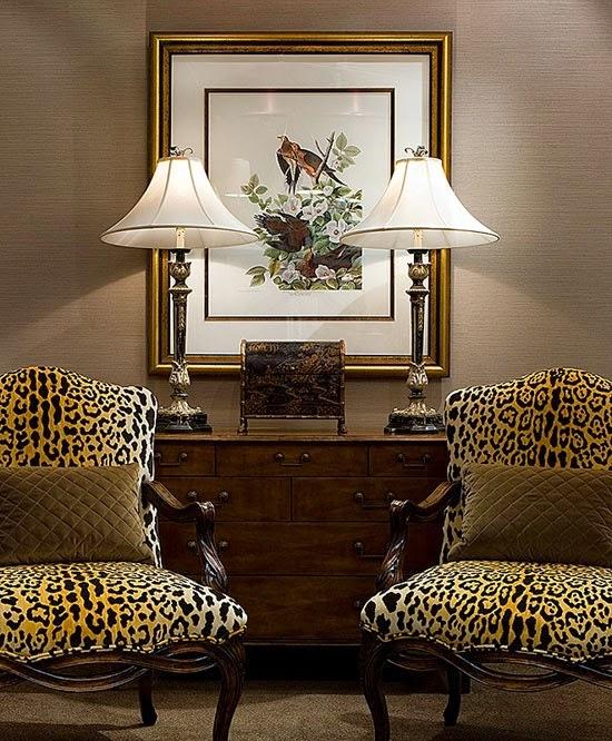 Леопардовый интерьер